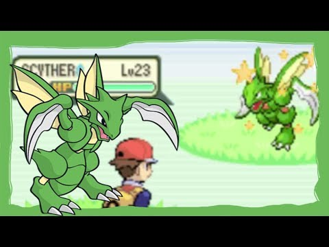 [LIVE] 4% Shiny Scyther after 20364 REs in the Fire Red Safari Zone (WIN OR FAIL?)