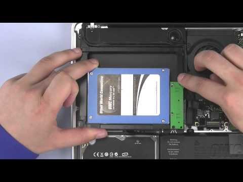 13-inch MacBook Pro Mid 2009 Data Doubler 2nd Hard Drive/SSD Installation Video