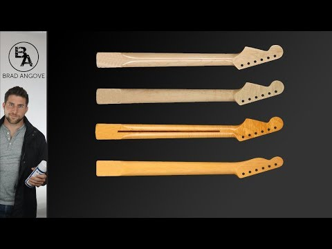 How to finish a guitar neck