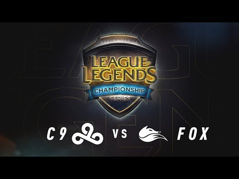 C9 vs. FOX - Week 9 Game 1 | NA LCS Summer Split | Cloud9  vs. Echo Fox (2017)