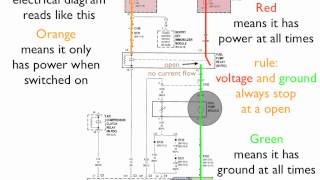 Download How to read an electrical diagram Lesson #1 Video