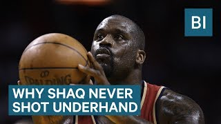 Why Shaq Never Tried The Underhand Free Throw