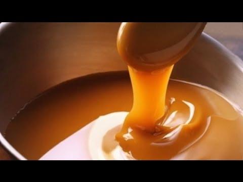 Salted caramel sauce recipe with milk