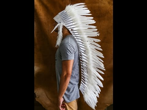 Feather Headdress for the Catwalk - Indian Headdress