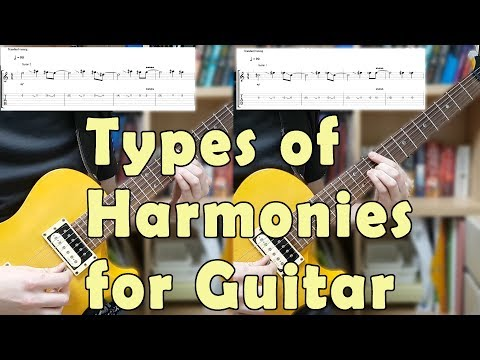 Harmonizing Lesson & Every Type of Harmony for Guitar