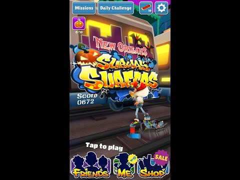 Subway Surfers V1.30.0 New Orleans MOD APK(Unlimited Coin And Keys)[ANDROID][NO ROOT]