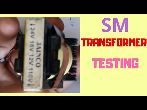 Testing of SM transformer used in SMPS power supply