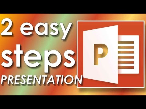 How to make create microsoft powerpoint presentation in 2 minutes