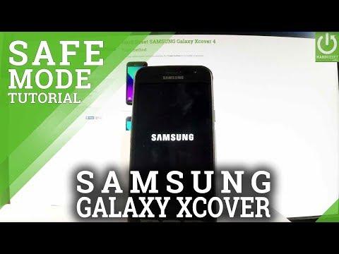 SAMSUNG Galaxy Xcover 4 SAFE MODE / Enter & Quit Safe Mode