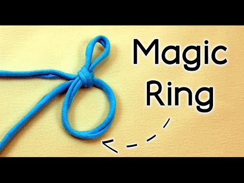 HOW TO CROCHET THE MAGIC RING (magic circle, adjustable ring or magic loop )   Patrones Valhalla ENG