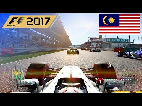 F1 2017 - 100% Race at Sepang International Circuit, Malaysia in Hamilton's Mercedes