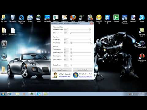 How to Custimise Windows 7 Taskbar Icons