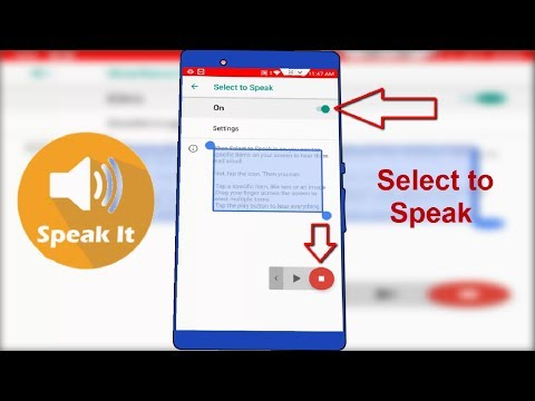 How to Enable Select to Speak Feature in Android Oreo 2018