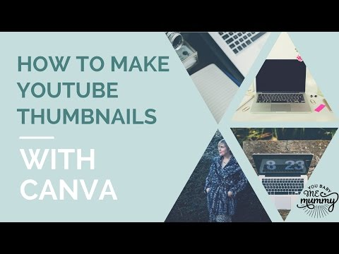 How to make YouTube thumbnails in Canva