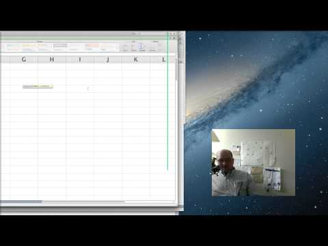 Control and Shift Key in Excel on Mac