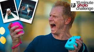 EPIC FAIL with INSTANT CAMERA for 10 Minute Photo Challenge (Maesi & Isabella)