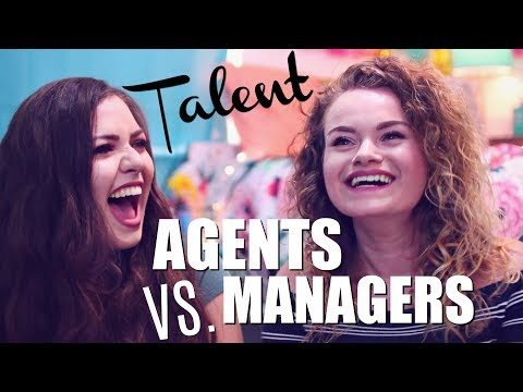 TALENT AGENTS VS. MANAGERS- What's The Difference?! Ft. Mariana