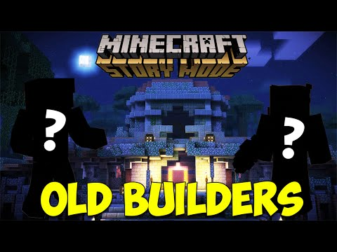 Minecraft Story Mode: Who Are the Old Builders?! | Episode 8