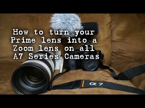 Turn your one Sony lens into many lenses using clear image zoom