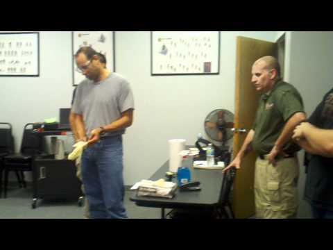 taser training at usps