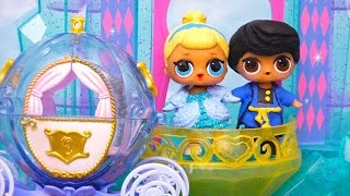 Kids Toys L.O.L Toy Surprise Dolls Turn Into Characters From Cinderella Story - Custom Painted Dolls