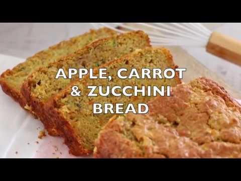 Apple, Carrot & Zucchini Bread