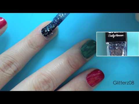 Christmas Nail Art   Glitterz08