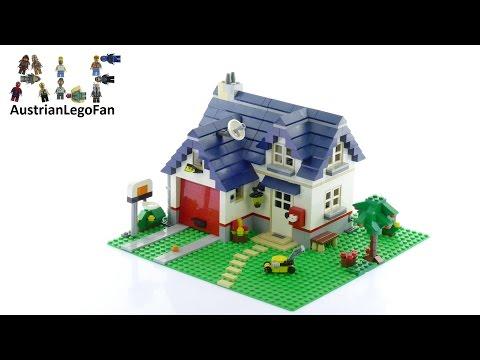 Lego Creator 5891 Apple Tree House - Lego Speed Build Review