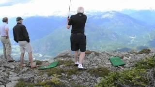 5,000 foot golfing adventure