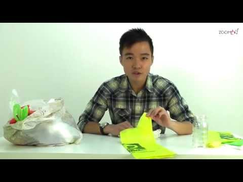 How to make a plastic bag dispenser and peel a hard boiled egg