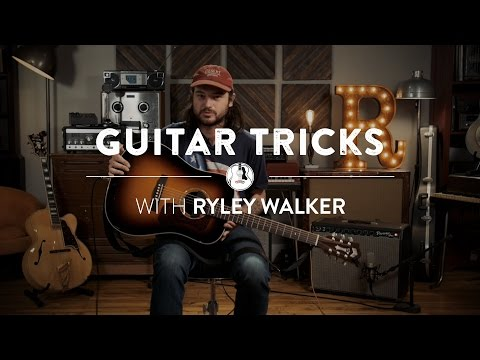 Stereo Imaging Acoustic Guitar with Ryley Walker | Reverb Guitar Tricks