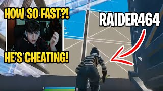 Clix is MINDBLOWN when Reacting to Raider464 The Fastest Editor In Fortnite