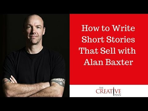How to Write Short Stories That Sell With Alan Baxter