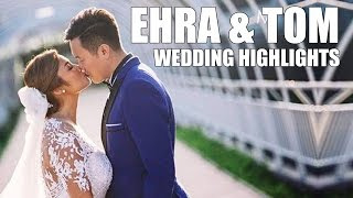 Ehra Madrigal and Tom Yeung | Wedding Highlights in Boracay