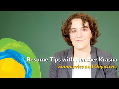 Should you have a profile, summary, or objective at the top of your resume?