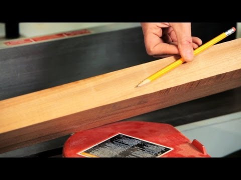 How to Square Lumber with a Jointer | Woodworking