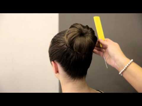 Premier School of Dance: How to do a donut bun