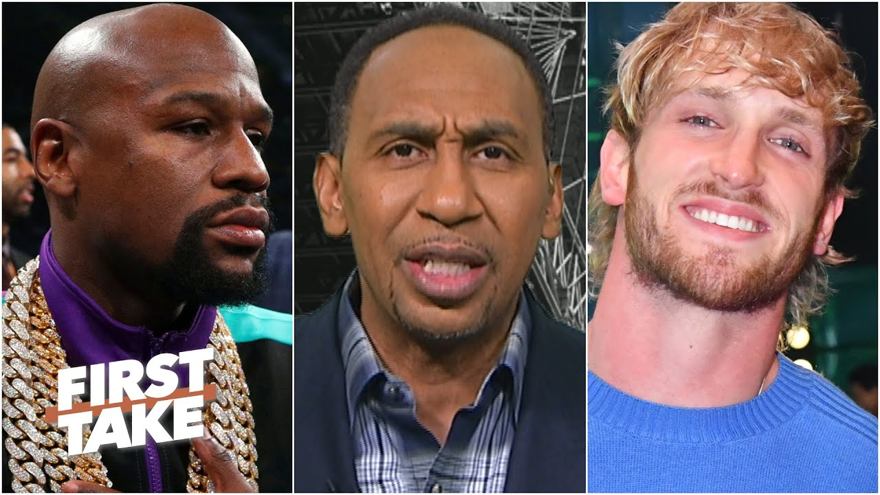 Floyd Mayweather vs. Logan Paul is bad for boxing - Stephen A. | First Take