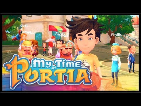 THE FIRST TOWN FESTIVAL IS HERE! | My Time At Portia | Ep 5
