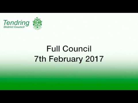 Full Council - 7th February 2017
