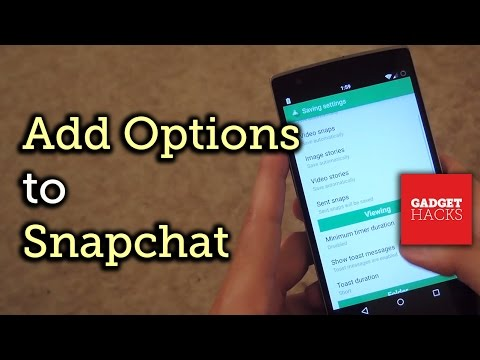 Save Snaps & Customize Captions with Snapprefs on Android [How-To]