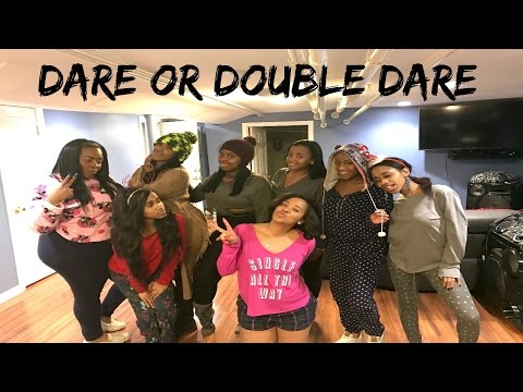 Vlog  Dare or Double Dare Christmas Part 2