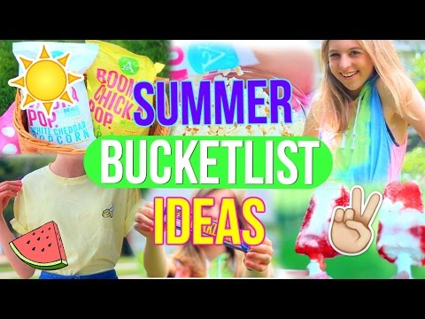 Summer Bucket List Ideas!! | Fun Things to do this Summer!