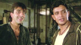 Mithun Chakraborty, Sanjay Dutt, Ilaaka  - Action Scene 4/20