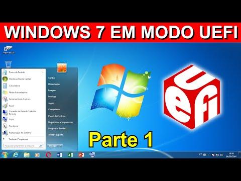 Como Instalar o Windows 7 em modo UEFI - Parte 1 (Criando pendrive bootável)