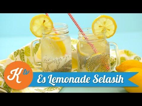 Resep Es Lemonade Selasih   GIOVANI ASYERA