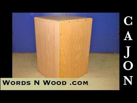 Building a Cajon -- out of THIN plywood (WnW #8)