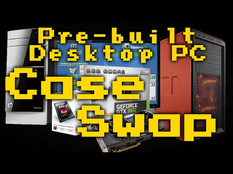 Pre-built Desktop PC Case Swap