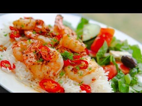 Chili Shrimp / Chilli Prawns - Recipe Video