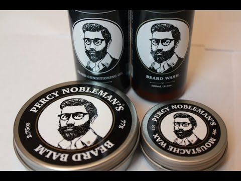 Beard Conditioner REVIEW   Percy Nobleman